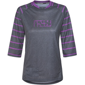 IXS Vibe 6.2 BC Bike Jersey Shortsleeve Women purple/black